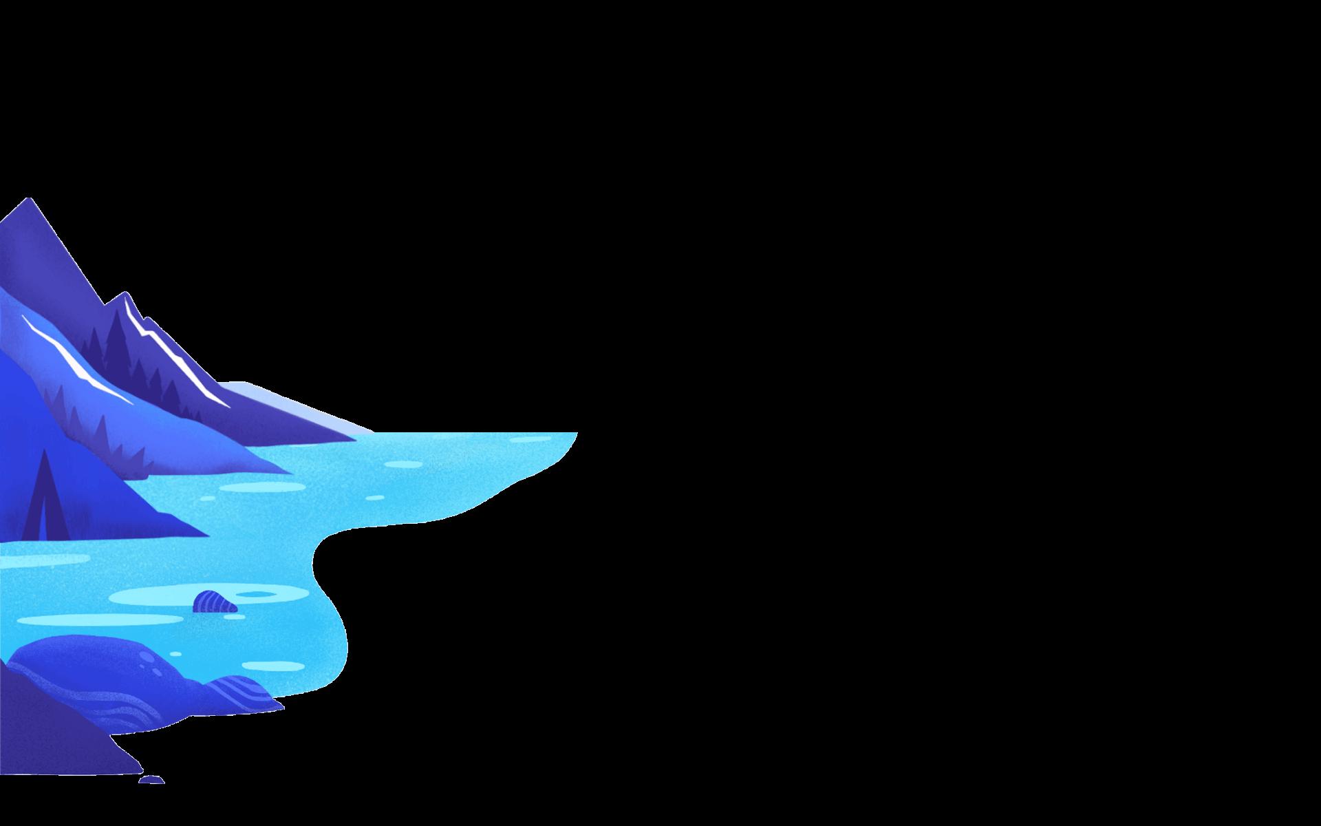 mountainwater background